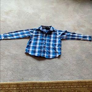 Button down wrangler shirt